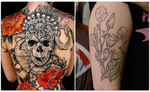 Kolkata : Pay Rs 360 for Rs 2000 Worth Tattoo of 4 Square Inch Area at J.K. Tattoo Club, Esplanade