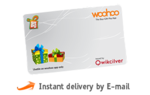 10% Off on GiftBig woohoo E-Gift Cards