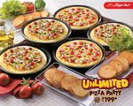 Unlimited Pizza hut Party is back For 29 May, Valid in 15 Cities Across India