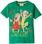 Flat 50% off or more on Motu Patlu Boys' T-shirts, pajamas, shorts & trousers