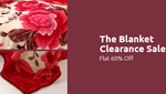 Flat 60% off on Blankets