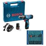 amazon || Bosch 06019F30K2 GSB-1080 Li Cordless Drill (Blue) @5199 (63% off) || mrp- 14000