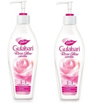 Dabur Gulabari 3 in 1 lotion (Pack of 2)- Rs  201  [ 46 %  off   ] @ snapdeal