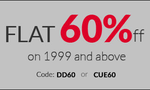 American Swan offer get 60% Off On Orders Above Rs 1999
