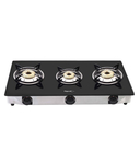 [cheapest] Pigeon 3 Burner Glass Top Gas Stove Favorite @ Rs 2363/- MRP Rs 3999/-