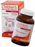 HealthAid Children's MultiVitamins and Minerals - 30 Chewable Tablets@561 MRP1020(45%off)
