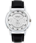 Laurels Lo-Vogue-101 Original Black Leather Analog Watch @ 149 on Snapdeal
