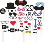 Amazon: Syga 36Pcs/Set Photo Booth Party Props Craft Item@ 249 (75% discount)+ Free Delivery