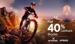 Cycling - Flat 40% Cashback @Paytm (Back Again)