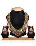 Amazon: Zaveri Pearls Antique Necklace Set for Women-ZPFK1150 @437 mrp 2290