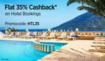 Paytm: Flat 35 % cashback on hotel booking