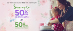 Upto 50% Off Mother's Day Gifts + 50% Cashback! At Zoomin