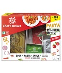 FREE Movie Voucher worth Rs. 199 With Chef's Basket RED Sauce Pasta and Soup Dinner Kit for 2 | SnapDeal (Different product)