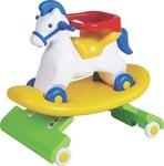 Toyzone Nepoleon Horse 3 In 1 Car(Multicolor)@2000