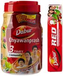 Dabur Chyawanprash Awaleha - 2 kg with Free Dabur Red Tooth Paste - 200 g of Rs.88 in just 375 | amazon