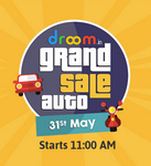 Droom - Grand Auto Sale (Get vehicle Service for Rs 9)