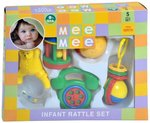 Mee Mee Rattles Set, Multi Color (5 Piece) MRP 499 @ Rs.375 + Free Shipping