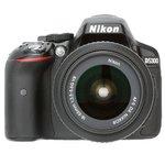 Nikon D5300 (with AF-S 18-55 mm VR Lens) 24.1 MP DSLR Camera (Grey) + FREE Nikon DSLR Bag + 8GB Memory Card @34650 || see pc