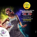 Active Music World with 20 audio channels at ₹1 for 30 days, valid till 5th June.