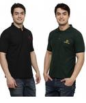 (54% off) Harvey Ross Green & Black T-Shirt For Men @ Rs.649 (MRP : Rs.1399)