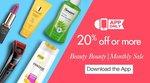 Amazon  Monthly Beauty Bounty Sale