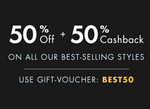||Best of the Best Sale|| 50%OFF + 50% Cash back on all best selling Styles @Lenskart