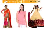 Voonik : Joy Of June Sale Upto 70% off on Women clothing, accessories.