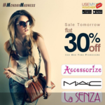 LIVE || Avail Flat 30% Off on Accesorize | MAC | LaSenza on USEMYVOUCHER
