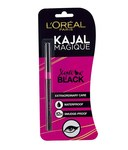 [62% Off] L'Oreal Paris Magique Black Kajal 2.5 gm - Pack of 2 Rs 210 [Mrp 50] @Snapdeal