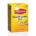 (check pc cheapest) Lipton Yellow Label Leaf Carton, 500g @236/- Mrp 315/- at Amazon