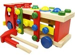 Mandydov Wooden Disassembly and Assembly Screw Truck for Kindergarten Garden Fun Early Education Toy @ Rs.1249 (69% Off)