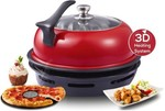 Kawachi Kitchen Express Red Color Gas Oven Tandoor- 1847 at Snapdeal