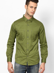 Flat 70% off, Spykar Green Casual Shirt for Rs. 540 - Jabong.com