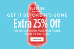 JABONG Extra 25% Off