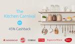 Paytm: Kitchen Carnival | Get 45% Cashback