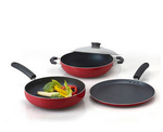 Paytm: Anjali 4 Pcs FAB Nonstick Gift set - Red@ 660 (MRP: 1905) || Check PC
