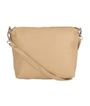Buy Borse Beige Faux Leather Sling Bag For Rs.145