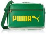 Puma Fabric Green Messenger Bag (7174409)  @Rs.998/-  (MRP.1999)