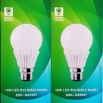 Flipkart : Syska Led Lights 10 W LED Bulb (Pack of 2) @Rs. 400 (82% off)