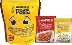 Weikfield Penne Pasta, 500g (Free Red Pasta sauce & white pasta sauce)  @Rs.99/-  (MRP.175)