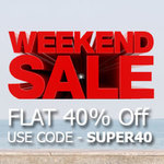 Bata: Get flat 40% Off* on Shoes (Selected Range as shown on the landing page)
