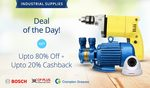 paytm  :: Industrial Supplies Sale upto 80% off +  Upto 20% Cashback