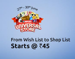 ShopClues: Universal Store  Starts @ Rs.45 | 27th - 30th June 2016