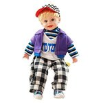 Sunshine 22 Inches Baby Musical and Singing Boy Doll ,Cute Dress + Sings Rhymes + Touch Sensors@799