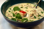 Get a Sour & Spicy Tom Kha Soup free on orders above Rs.350 @Freshmenu