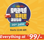 Droom Auto Service Sale  : Everything at Rs 99