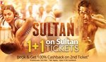 Buy 2 Sultan movie tickets on the price of 1