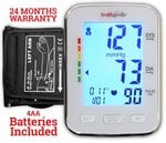 Healthgenie BP Monitor digital Upper arm BPM 04BL Automatic with irregular heart beat indicator