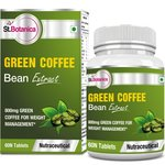 St.Botanica Green Coffee Bean 800 mg Extract (With Chlorogenic Acid) - 60 Tablets