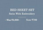 Get Up to 80% off on Bed Sheets